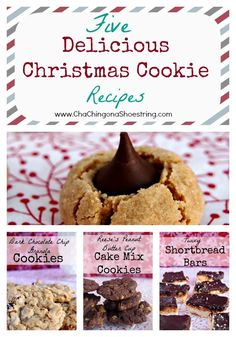 Merry Little Christmas: Five Delicious Christmas Cookie Recipes to Fill Your Freezer