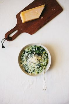 spring green, green risotto