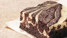 Cream Cheese Swirl Brownies