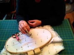 Grab you needle..let's rock and hill some hand quilting stitches.