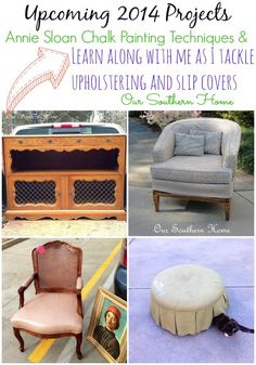 Thrifty Projects for 2014 from Our Southern Home