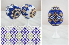 Free Beaded Egg Cover Tutorial featured in Bead-Patterns.com Newsletter! egg cover, bead egg