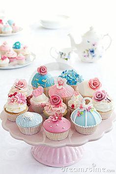 delicate cupcakes