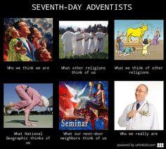 Adventists/SDAs… lolz! #meme