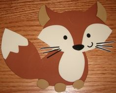 Forest Friends Fox Baby Shower Decorations Party Favors Handcrafted Adorable | eBay