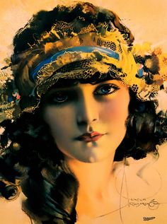 Gypsy Pin Up by Rolf Armstrong