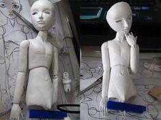 bjd project, art doll, bjd tutori, doll inspir