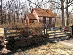 Seneca One-Room Schoolhouse, Poolesville, MD (Montgomery County).