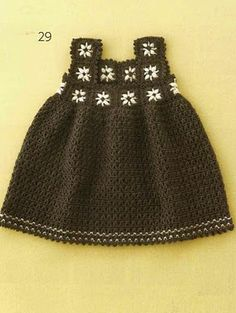 Fancy Baby Dress free crochet pattern