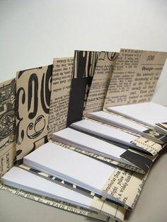 Matchbook style notepads