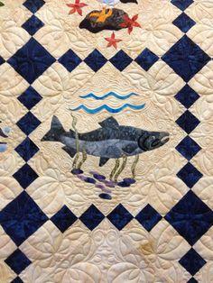 Alaskan quilt sampler - salmon