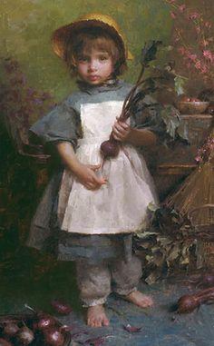 The Gardener  painting by Morgan Weistling
