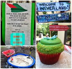 Mommy's Idea Notebook: Peter Pan in Neverland Party