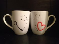 Cute gifts for valentines day! Perfect for coffee lovers!