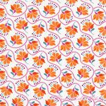 Kate Spain Cuzco Embroidery Tangerine [MODA-27132-12] - $10.45 : Pink Chalk Fabrics is your online source for modern quilting cottons and sewing patterns., Cloth, Pattern + Tool for Modern Sewists