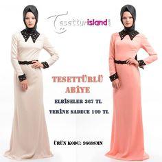 Birbirinden Güzel Abiyelere Sahip Olmak İçin Hemen Tıklayınız: www.tesetturisland.com  #tesetturfashion #abiye #dress #hijab #tesetturisland