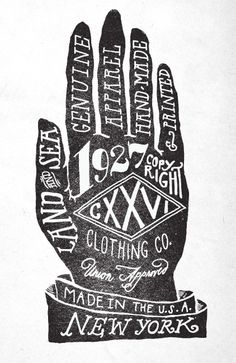 Hand-Drawn-Type Hand
