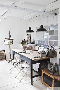 interior, office spaces, studio spaces, dream, desk, light, bureau, home offices, workspac