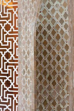 Escape dusty Marrakech and relax at Seasons Resort Marrakech spa, surrounded by traditional Moroccan Zellige tiles in a tranquil palette.