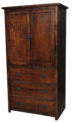 Armoire - like the big drawers on the bottom
