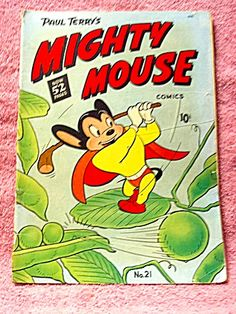 Mighty Mouse comic book, No. 21, 1950