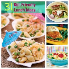 31 Kid-Friendly Lunch Ideas