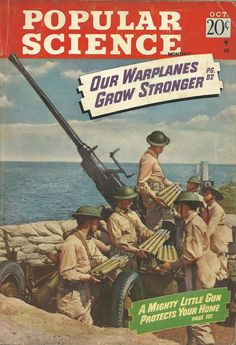 Popular Science, October 1942  Our Warplanes Grow Stronger WWII Aircraft Spotting Army Air Corps military airplane