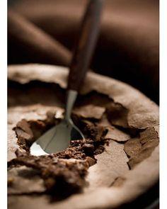 Fallen Chocolate Cake - flourless!