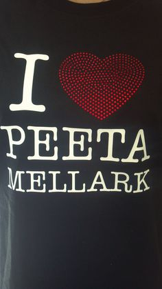 "The Hunger Games ""I heart PEETA MELLARK"" T-shirt"