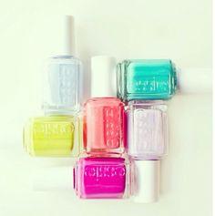 Summer color palette | Essie