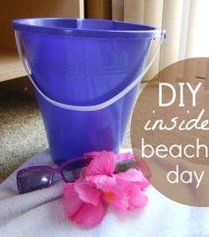 Beach pretend play fun!!