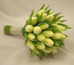 wedding bouquets, tulip
