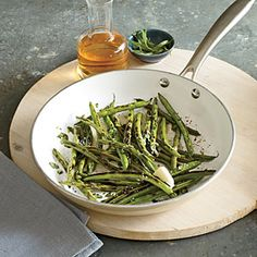 Pan-Charred Green Beans with Tarragon | CookingLight.com #myplate, #veggies