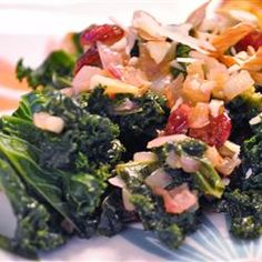 """Sweet and Savory Kale 