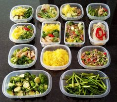 Paleo Meal Prep Ideas via Protein Cupcakes #clean #healthy #protein