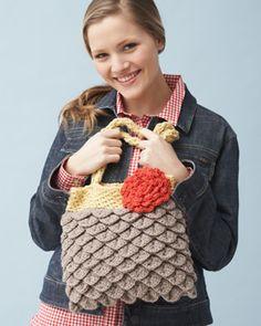 """Mermaid Tears Purse (crochet) """"free pattern"""""""