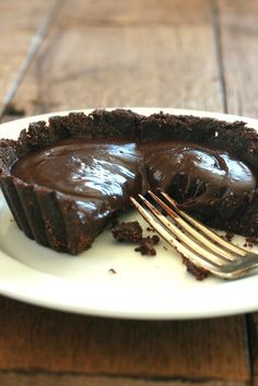 Gluten Free Fudgy Chocolate Tart Recipe