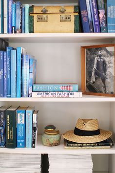 Heidi Merrick's home via Glitter Guide