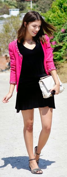 Everyday New Fashion: BLACK BASICS by Maritsa
