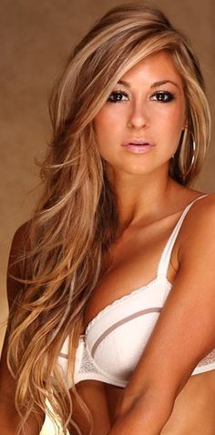 Blonde Hair With Brown Highlights Images & Pictures - Becuo