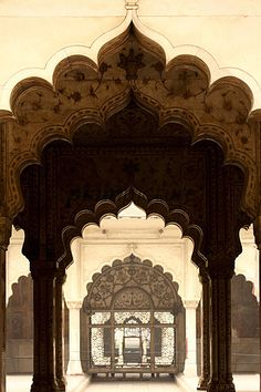 Delhi, India. Mughal architecture.