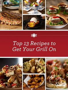 Summer = #Grill season! Here's David's best grilling #recipes