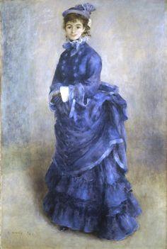 La Parisienne,1874  Pierre-Auguste Renoir