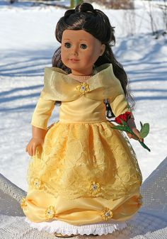 American Girl Doll BELLE from Beauty and the by TallulahSophieToo, $70.00