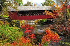 Brattleboro, Vermont - The Creamery Covered Bridge.
