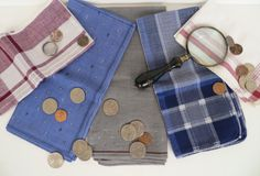 Vintage Men's Handkerchief Collection  Father's by plankandpearl