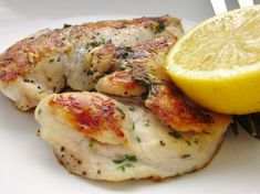 Butterflied Rosemary Chicken Breast. I just bought a huge rosemary plant at Walmart yesterday for 5 bucks!  I will keep it outside my kitchen door to use for recipes like this!