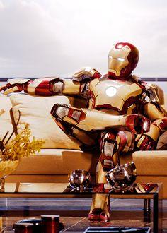 Iron man is waiting