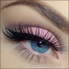Soft pink look