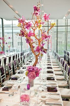 25 Stunning Wedding Centerpieces | bellethemagazine.com